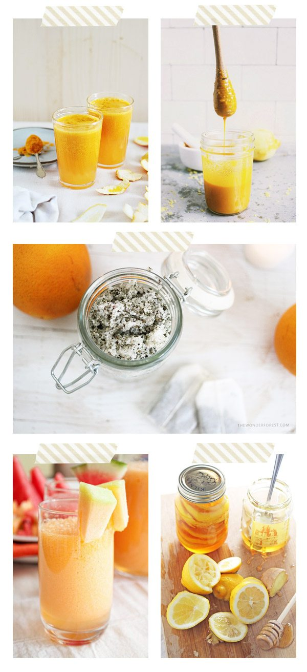Home Remedies for Cold and Flu from @cydconverse
