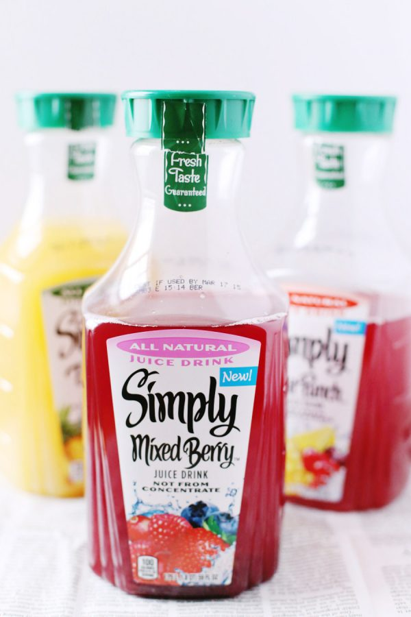 Simply Juice Cocktails from @cydconverse