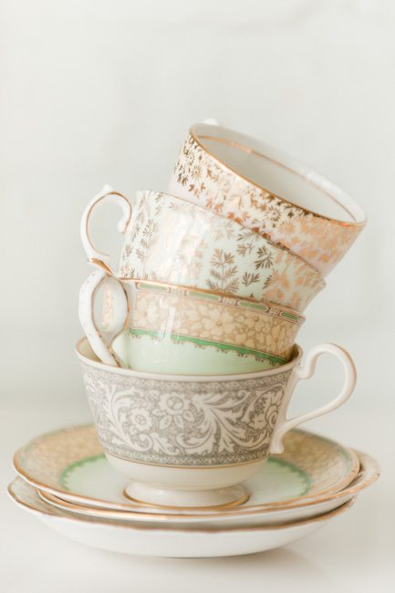 Vintage Tea Cups from @cydconverse