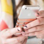 DIY Foil Striped iPhone Case