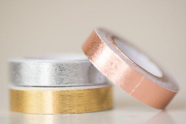 Metallic Foil Washi Tape