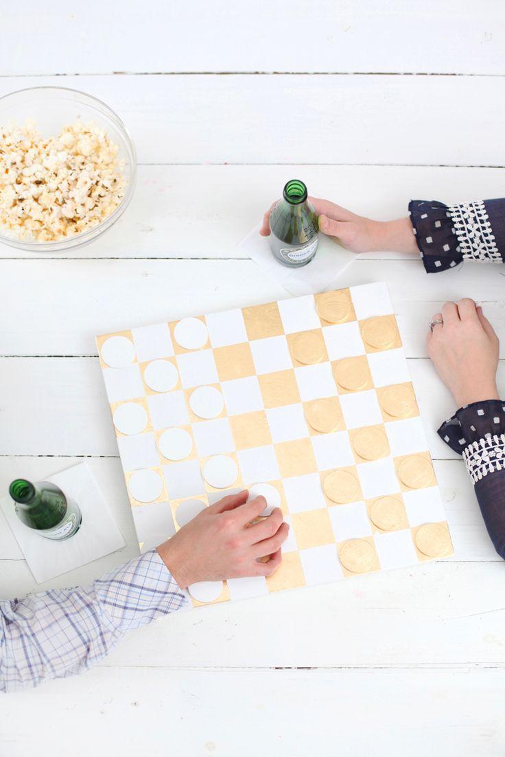 DIY Checkerboard via @cydconverse