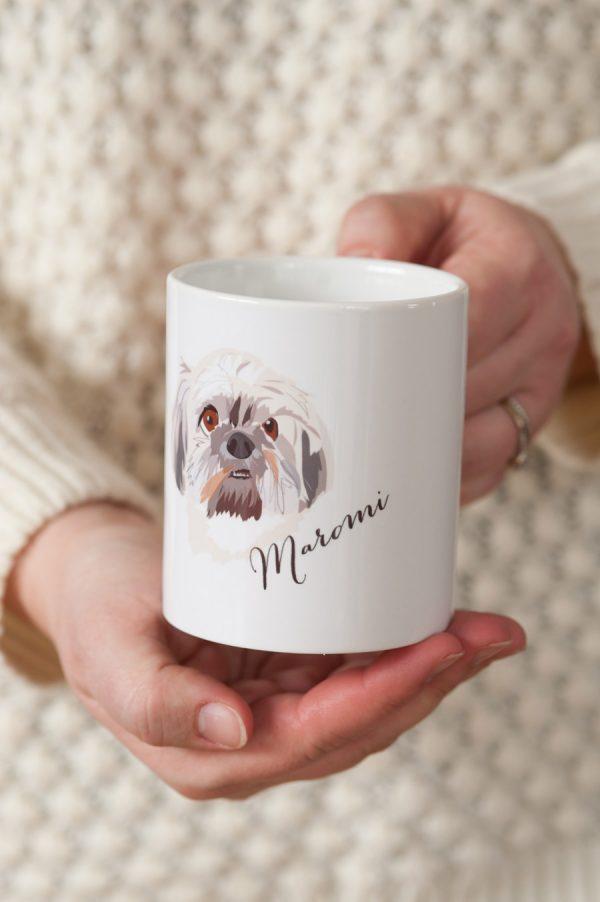 Custom Dog Mug from Noble Friends via @cydconverse
