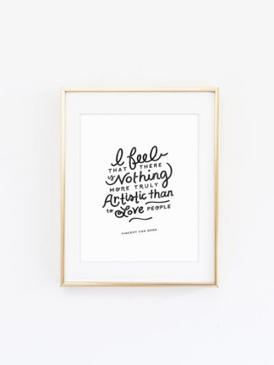 Love People Art Print thumbnail