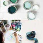 Color Palette: Juniper + Lemonade