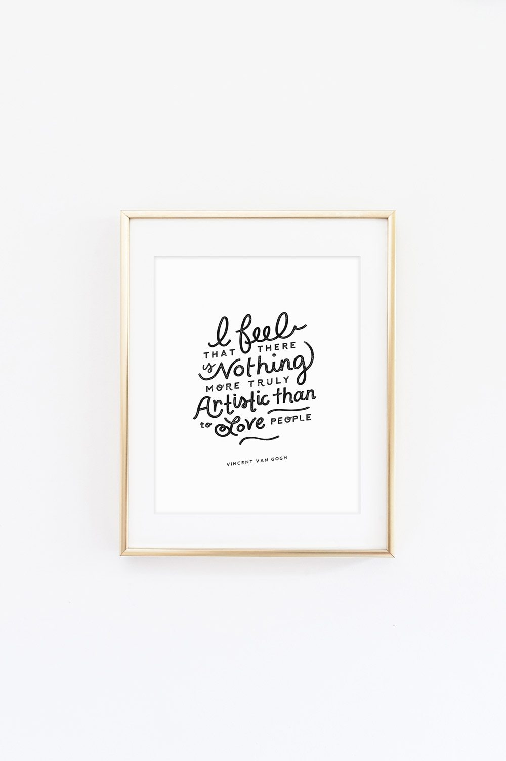 Love People Art Print