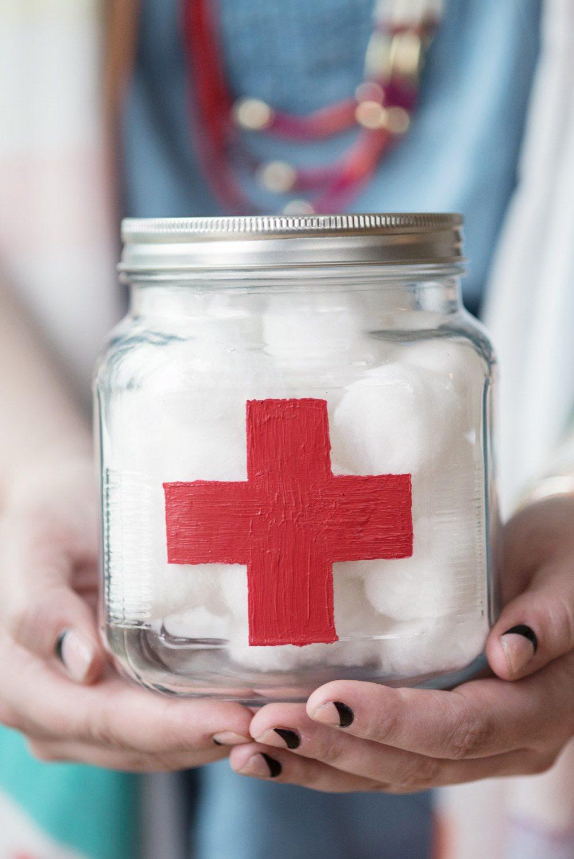 DIY First Aid Jar from @cydconverse