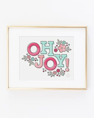 Oh Joy Printable Art Print by Splendid Supply Co. thumbnail