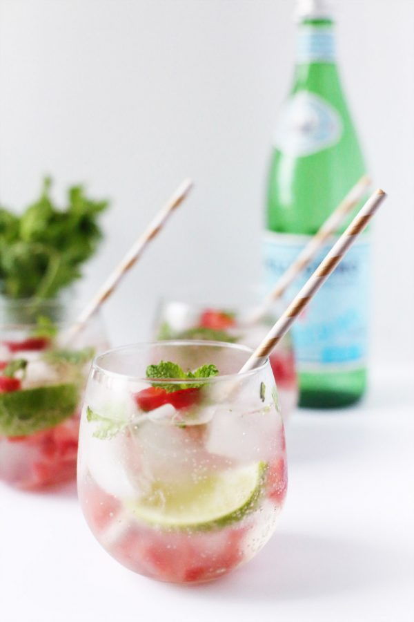 Strawberry Mojito from @cydconverse