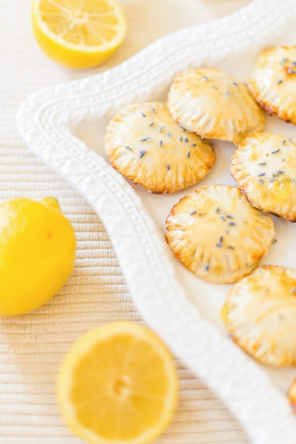 Lemon Lavender Hand Pies from @cydconverse