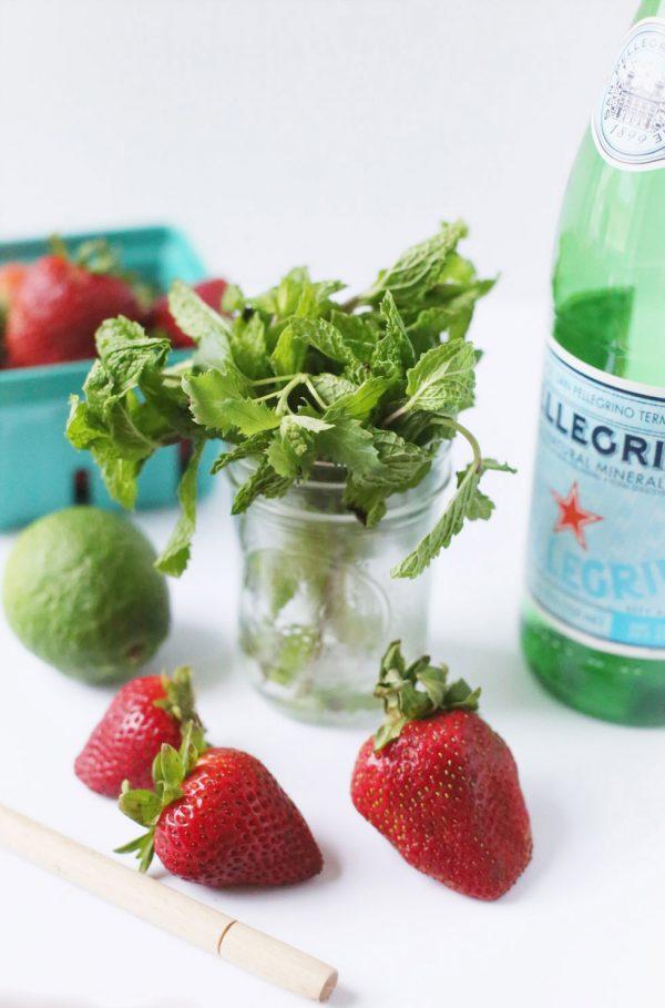 Strawberry Mojito by @cydconverse