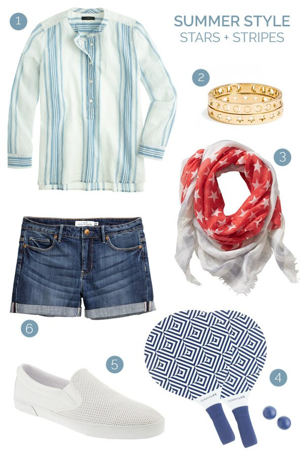Summer Style: Stars + Stripes from @cydconverse