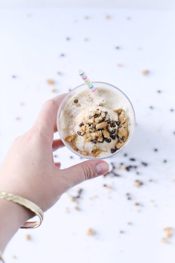 Chocolate Chip Cookie Iced Coffee Float by @cydconverse