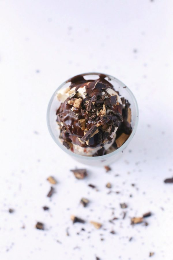 PB&J Chocolate Truffle Sundae by @cydconverse