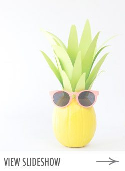 10 Festive DIY Pineapple Party Ideas from @cydconverse