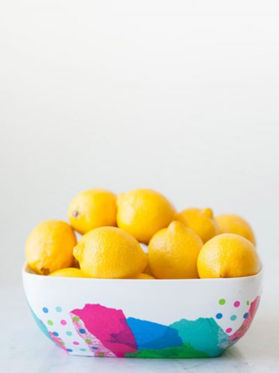 DIY Abstract Fruit Bowl thumbnail