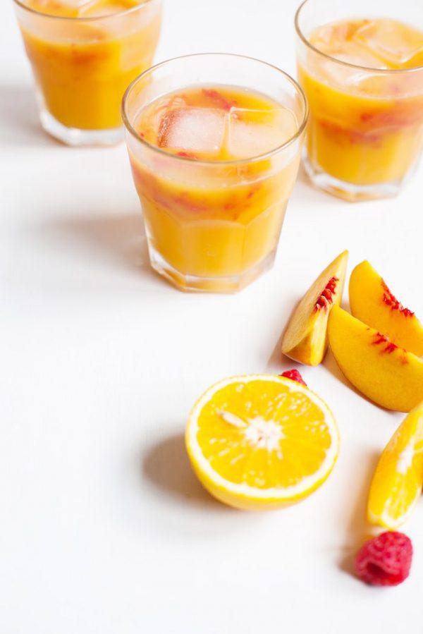 Morning Sunrise Peach Juice
