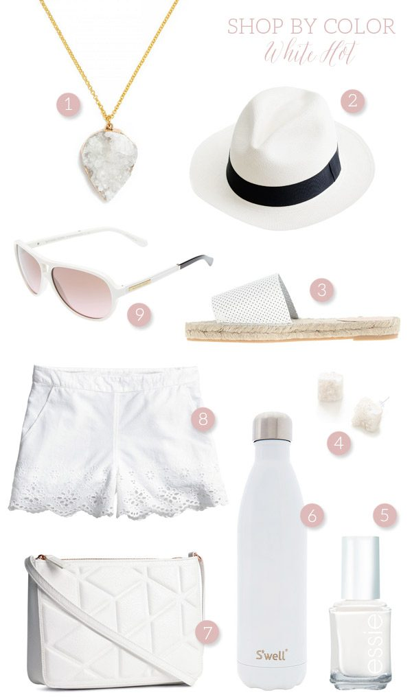 Shop By Color: White Hot