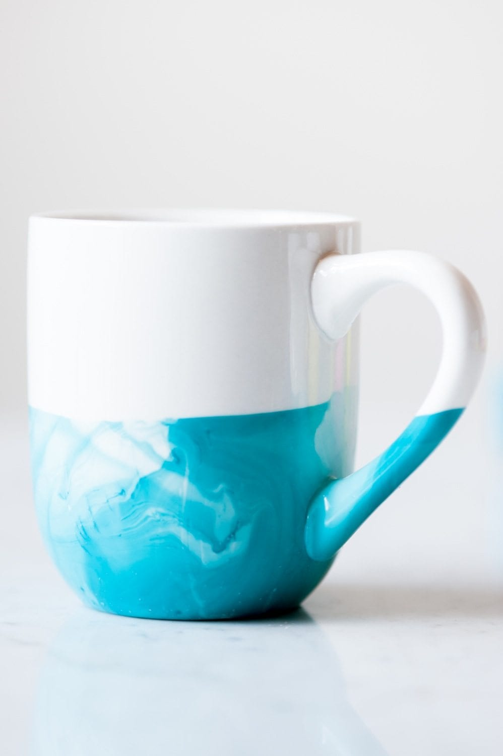 Diy Marble Dipped Mugs The Sweetest Occasion