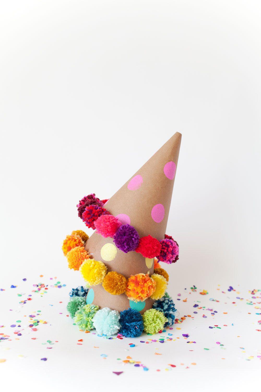 Как сделать помпон для дня рождения