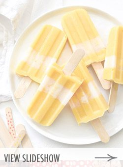 10 Yummy Summer Popsicle Recipes from @cydconverse