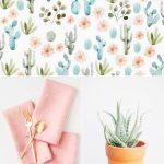 Color Palette: Cactus Flower + Agave