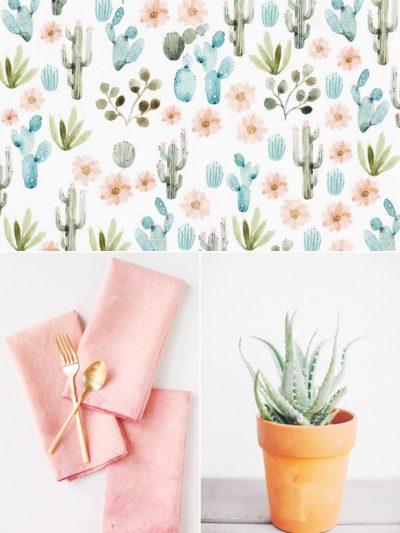 Color Palette: Cactus Flower + Agave thumbnail
