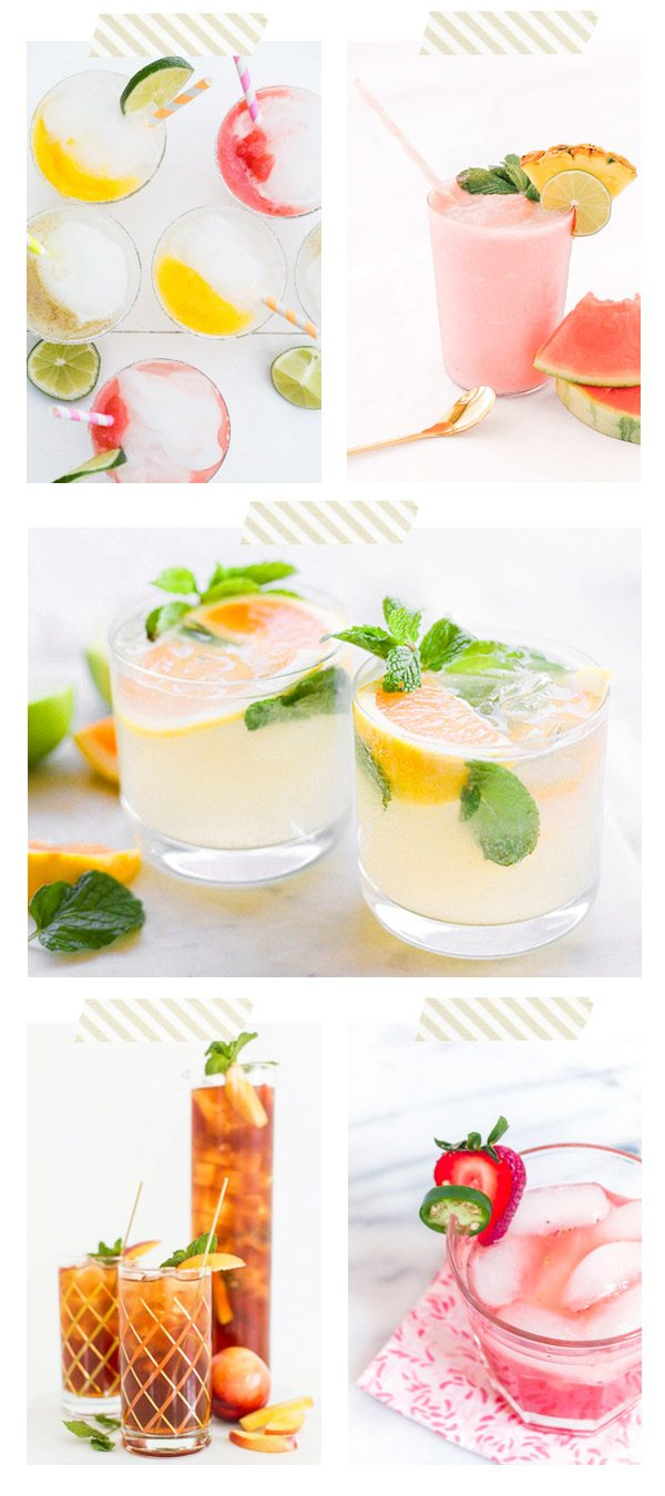5 Perfect Summer Cocktails from @cydconverse