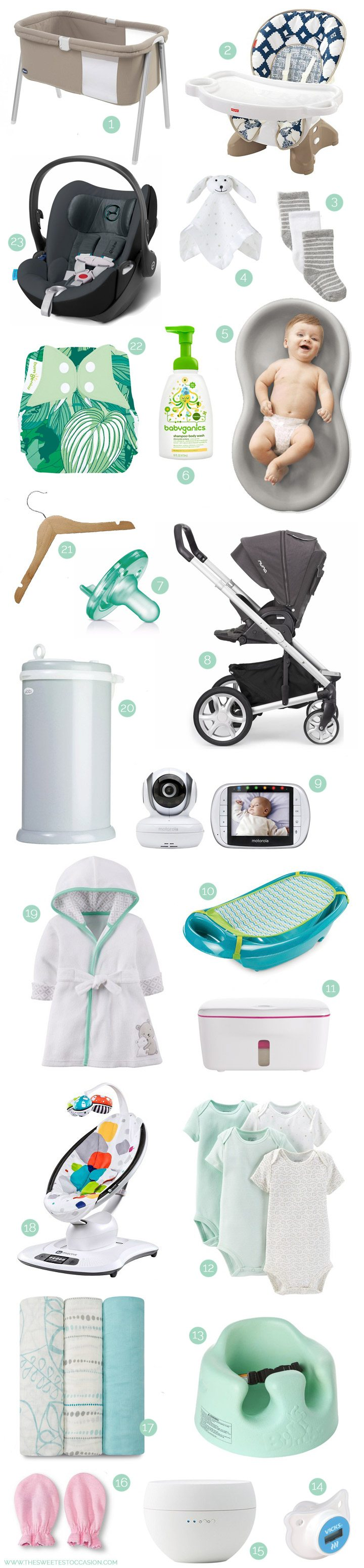 Baby Registry Essentials from @cydconverse