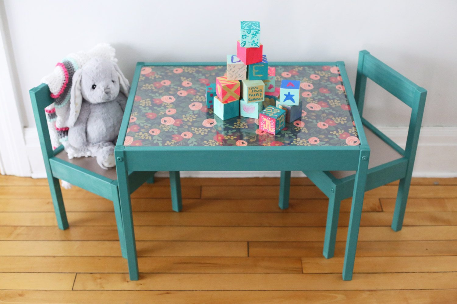Kids Table And Chair Set The Result Is A Totally Custom Piece That Going To Look Perfect With Modern Yet Whimsical Vibe I M For In Our