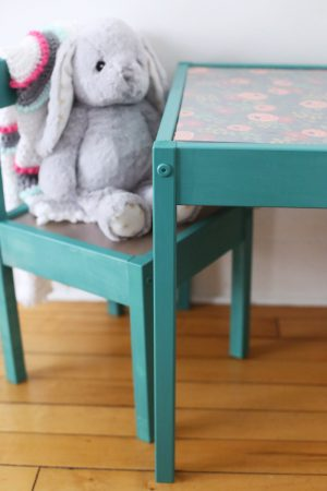 DIY Kids Table Makeover by @cydconverse
