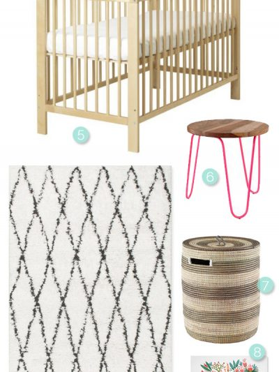Baby Talk: 32 Weeks + A Nursery Inspiration Board thumbnail