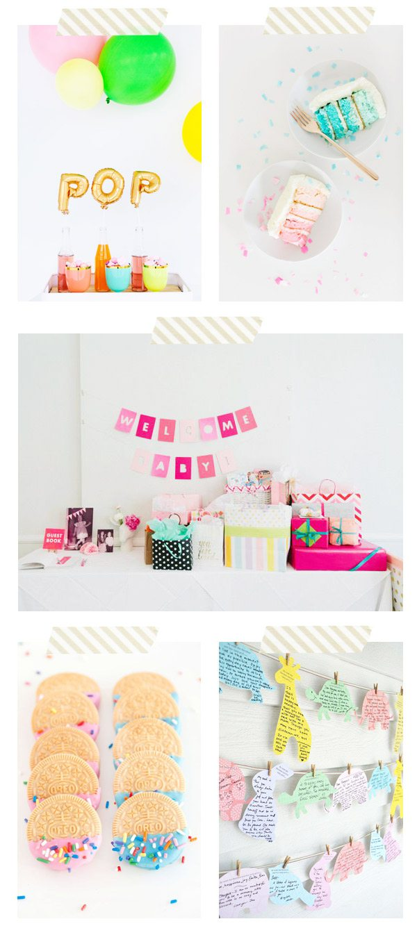 Unique Baby Shower Ideas from @cydconverse