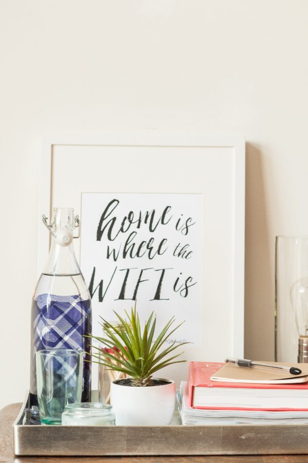 How to Make Your Guests Feel at Home for the Holidays from @cydconverse