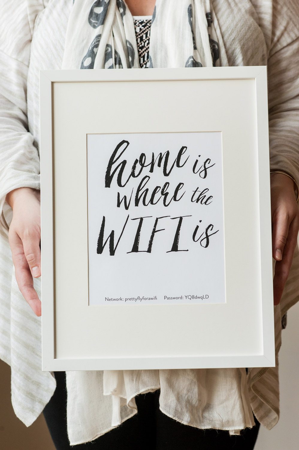 Home is Where the WiFi Is Printable - The Sweetest Occasion