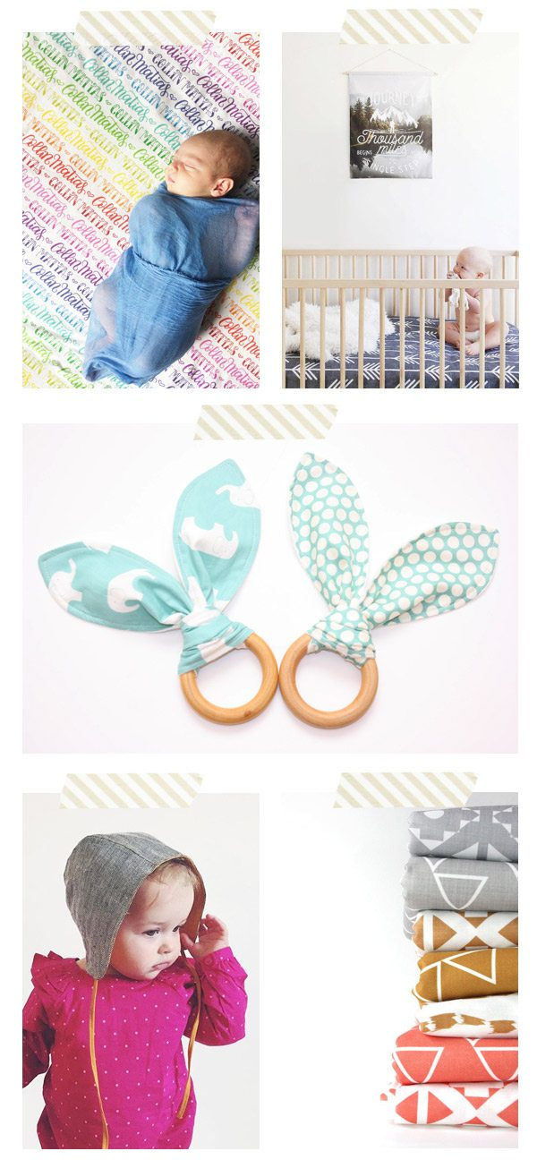 Best Etsy Shops for Baby from @cydconverse