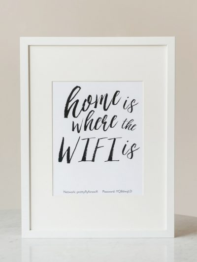 Home is Where the WiFi Is Printable thumbnail