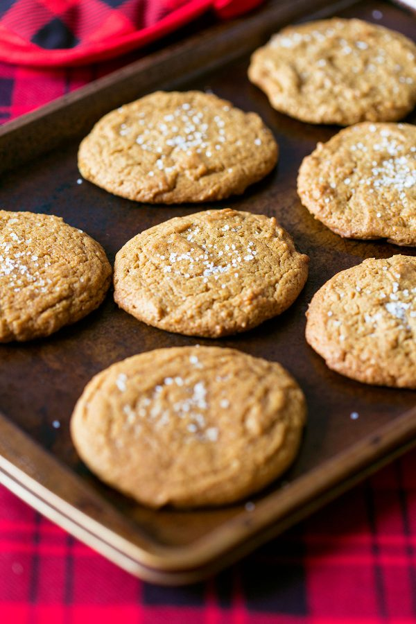 Salted Ginger Cookies by @pizzazzerie for @cydconverse