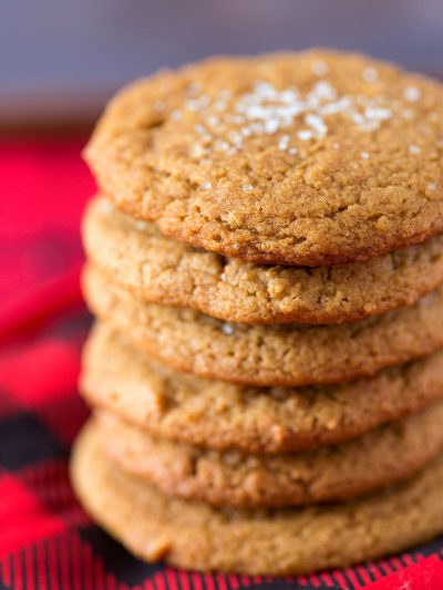 Salted Ginger Cookies thumbnail
