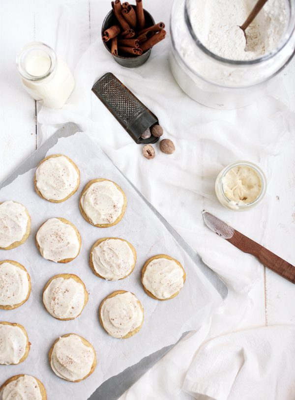 Eggnog Cookies by @themerrythought for @cydconverse