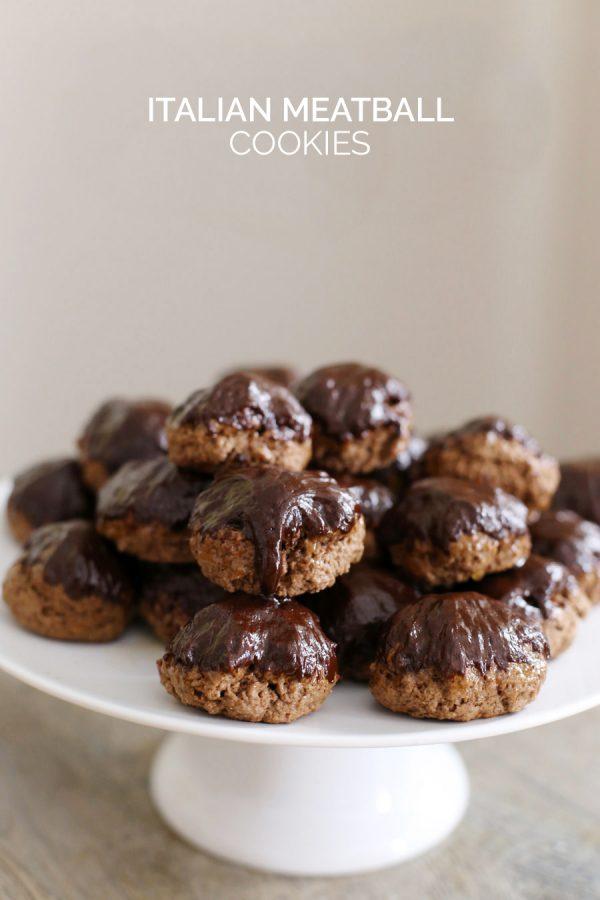 Italian Meatball Cookies by @cydconverse