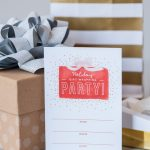 Gift Wrapping Party Printables