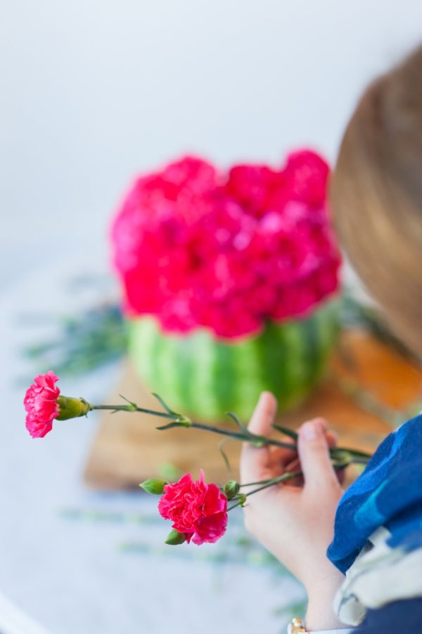 How to Make a Watermelon Vase from @cydconverse