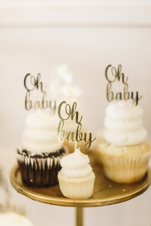 Elegant Botanical Inspired Baby Shower via @cydconverse