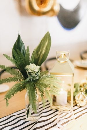 Botanical Greenery Centerpieces from @cydconverse