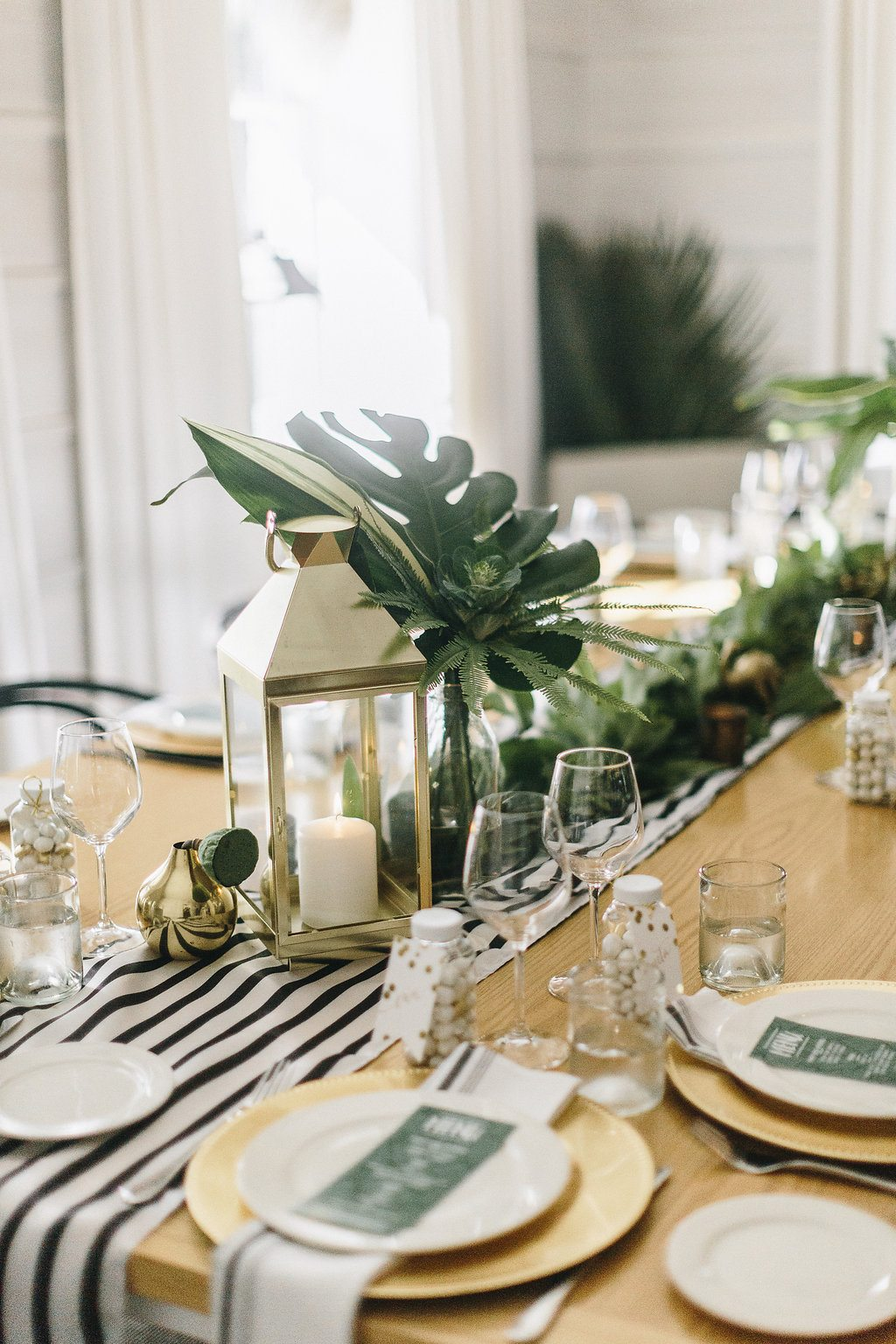 A Modern Elegant Tropical Baby Shower The Sweetest Occasion