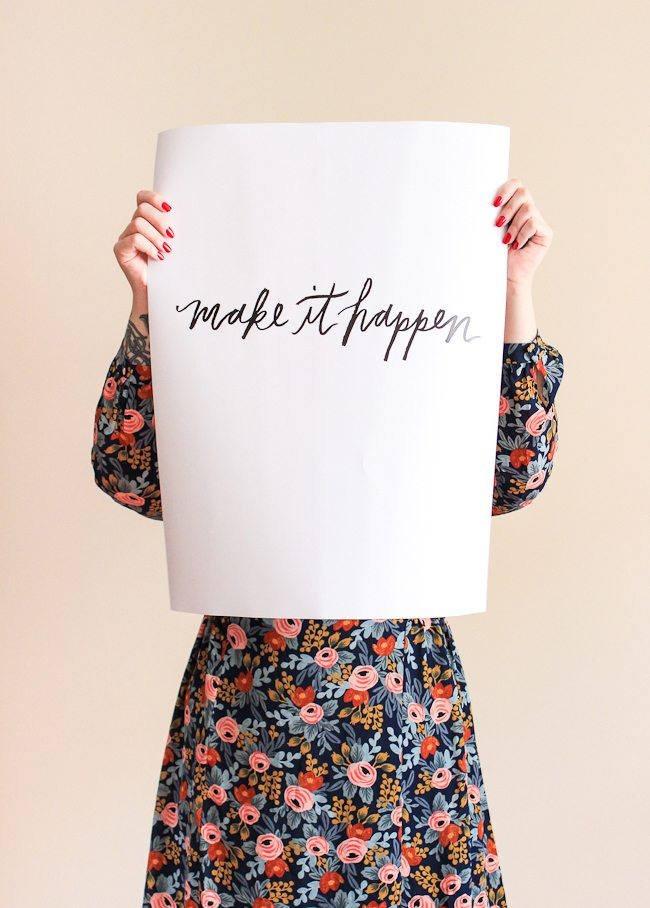 Make it Happen Printable