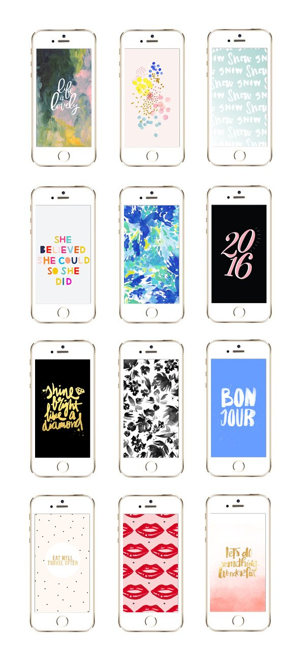 12 Awesome iPhone Wallpaper Designs for Winter from @cydconverse