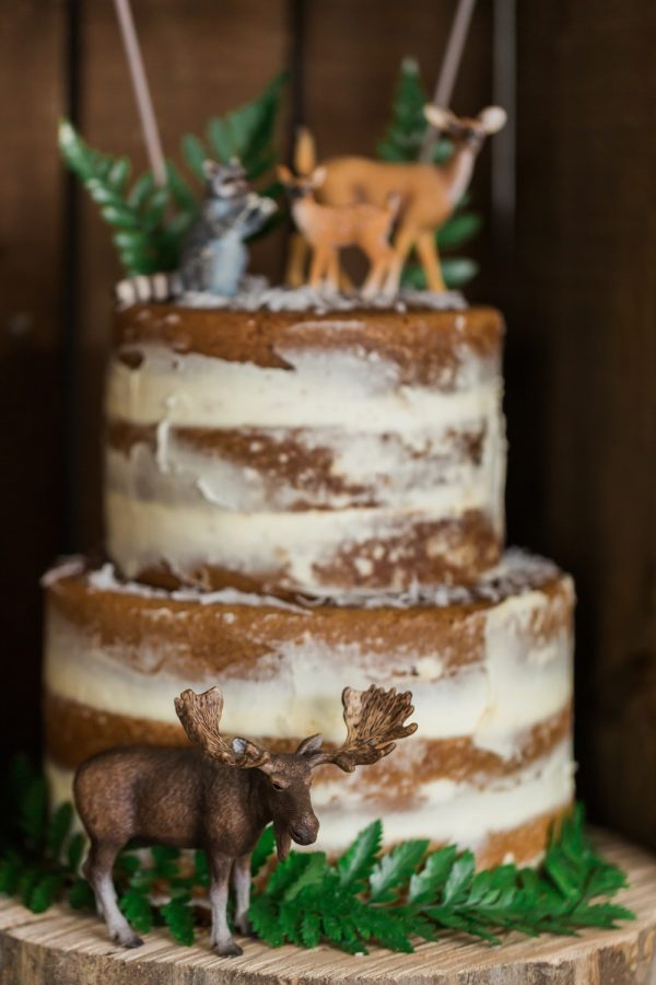 A Whimsical Woodland Theme Baby Shower from @cydconverse