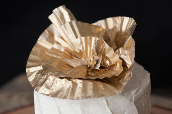 DIY Cupcake Liner Flowers by @cydconverse